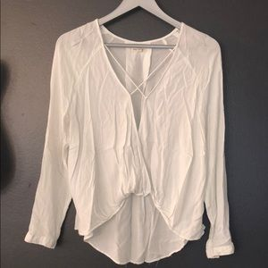 Urban Outfitters linen blouse